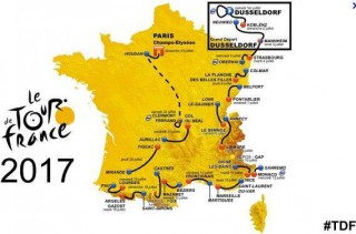 Tour de France 2017 en Lozere : Nasbinals, Saint Alban, Aumont-Aubrac
