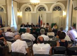 Séance plénière d'échanges entre les élus lozériens et le Ministre de la Cohésion Territoriale